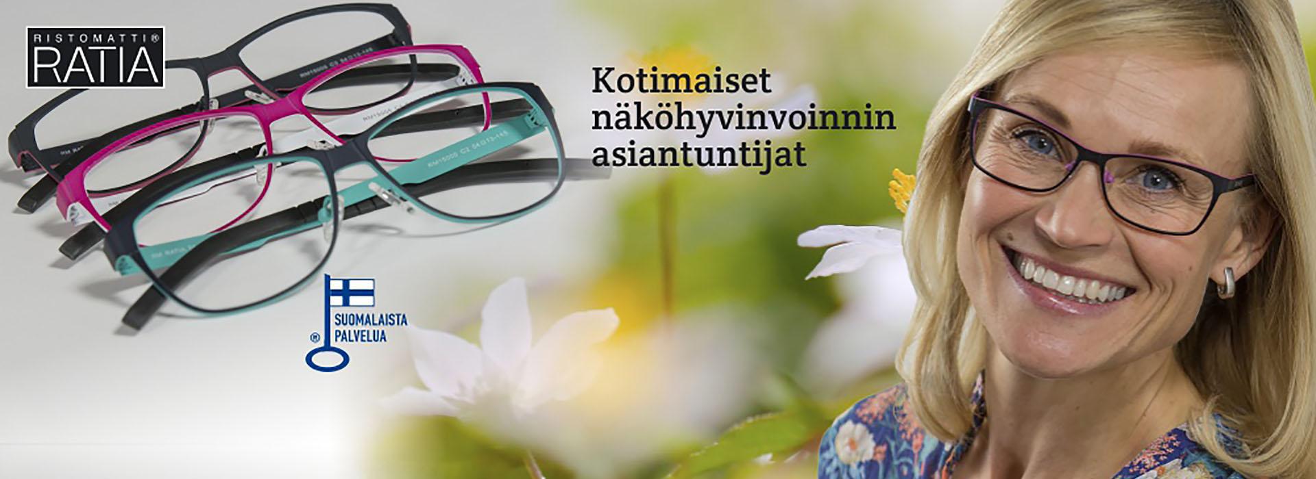 Kotimaiset näköhyvinvoinnin asiantuntijat - Kangasala | Kopinkulman Optiikka Oy