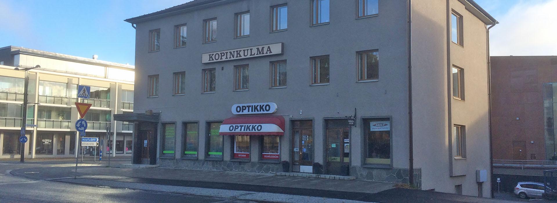 Kopinkulman Optiikka Oy (Optikko Kangasala), Tampereentie 1, 36200 Kangasala